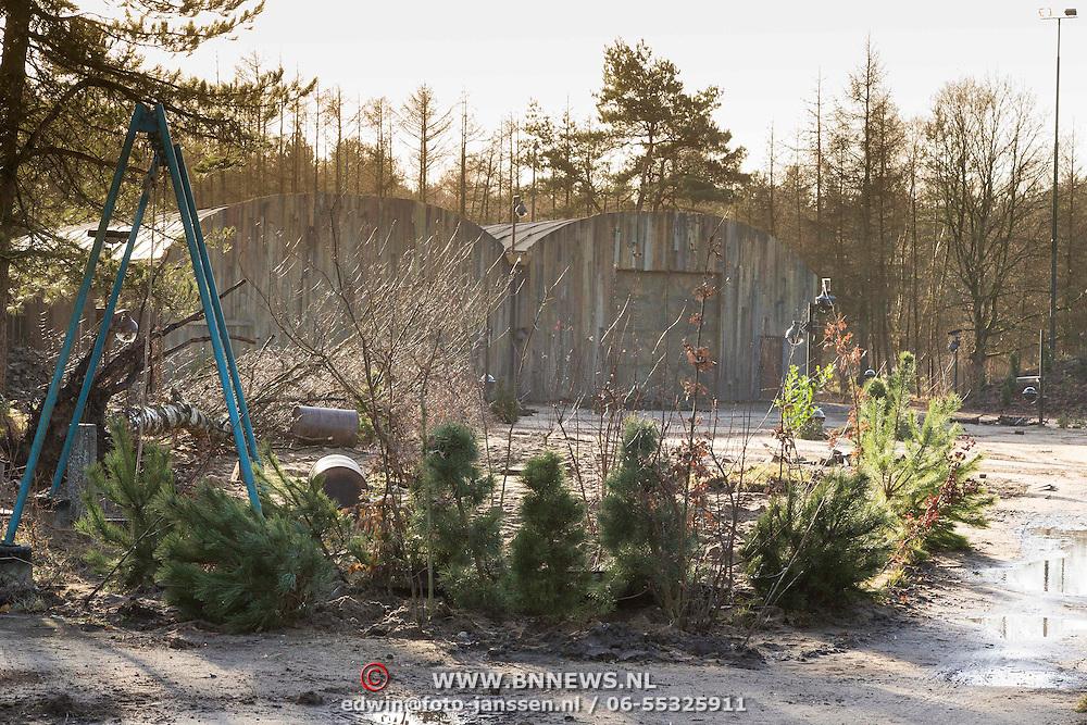 NLD/Bussum/20131219 - Perspresentatie nieuwe real life soap Utopia, Barakken voor verblijf