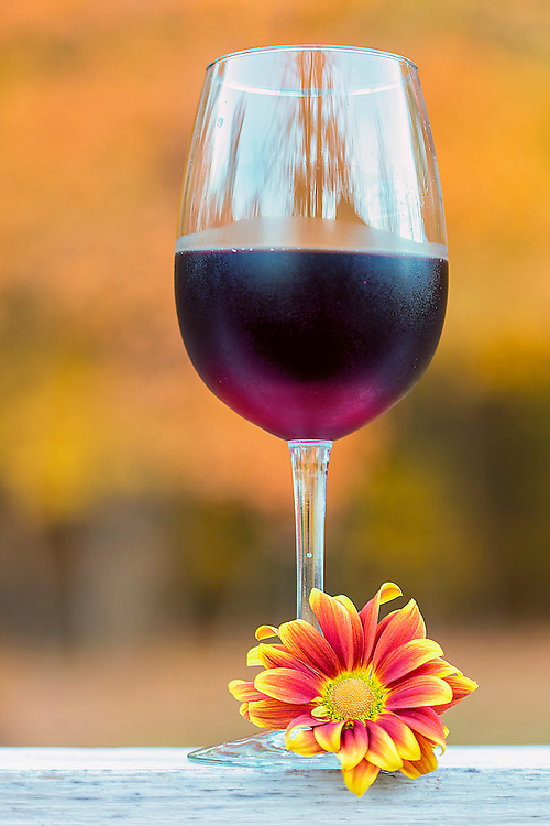 An Autumn Bouquet Of Colors and Aroma In This Seasonal Wine Shot