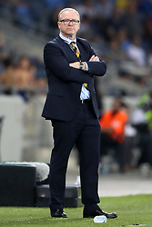 Scotland manager Alex McLeish during the UEFA Nations League Group C1 match at the Sammy Ofer Stadium, Haifa.