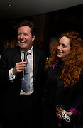 Piers Morgan and Sun editor Rebekah Wade. . Piers Morgan celebrates the publication of 'The Insider' at Axis Restaurant and Bar. One Aldwych, WC2. ONE TIME USE ONLY - DO NOT ARCHIVE  © Copyright Photograph by Dafydd Jones 66 Stockwell Park Rd. London SW9 0DA Tel 020 7733 0108 www.dafjones.com