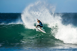 Wade Carmichael (AUS) will surf in Round 2 of the 2018 Corona Open J-Bay after placing second in Heat 11 of Round 1 at Supertubes, Jeffreys Bay, South Africa.