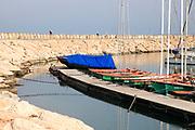 The Tel Aviv marina and yacht club