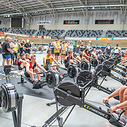 12:50 PM- Perry Group #20 Heat 1- Men?s 1000m U15<br /> <br /> NZ Indoor Champs, raced at Avanti Drome, Cambridge, New Zealand, Saturday 23rd November 2019 © Copyright Steve McArthur / @rowingcelebration www.rowingcelebration.com