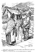 """Village Dame. """"The auld laird hadna seen ye for thretty-five years, and he kenned ye? Weel, weel!"""" Sandy. """"Na, I wanna say that, but he kenned ma coat an' breeks."""""""