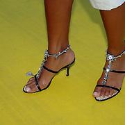NLD/Amstelveen/20060707 - Glitterparty Special Sports Amstelveen, Valerie Zwikker, schoenen