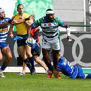 Treviso, Italy, 25/09/2021 Stadio di Monigo<br /> United Rugby Championship Benetton Vs Stormers<br /> <br /> Ratuva Tavuyara