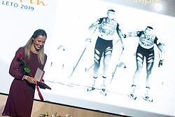 Anamarija Lampic at 55th Annual Awards of Stanko Bloudek for sports achievements in Slovenia in year 2018 on February 4, 2020 in Brdo Congress Center, Kranj , Slovenia. Photo by Grega Valancic / Sportida