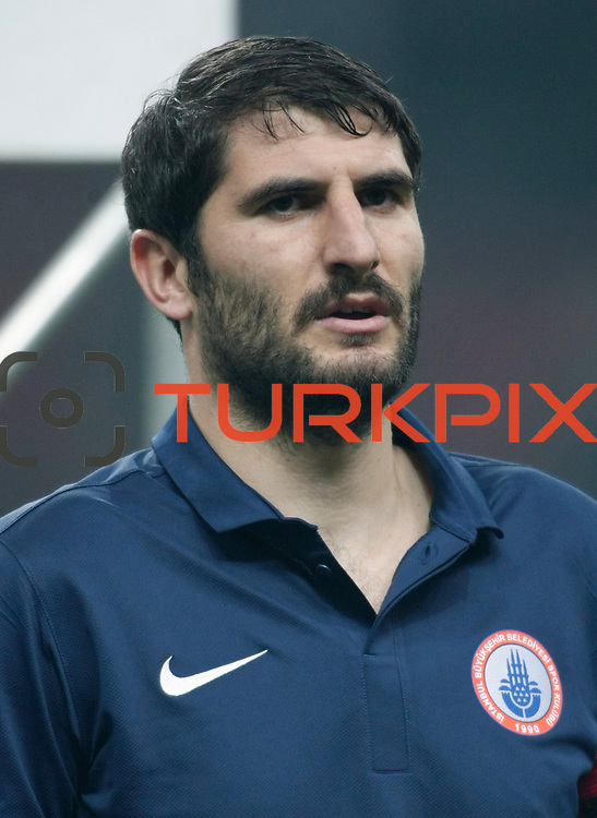 IBBSpor's Metin Depe during their Turkish Super League soccer match Galatasaray between IBBSpor at the TT Arena at Seyrantepe in Istanbul Turkey on Tuesday, 03 January 2012. Photo by TURKPIX