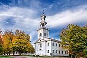 Charming Old First Church, Bennington, Vermont, USA.
