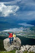 Exploring the wild Highlands of Scotland
