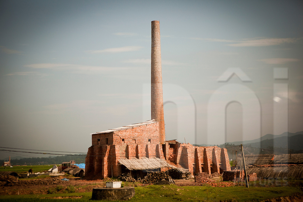 Brick factory in Nghe An Province, Vietnam, Southeast Asia