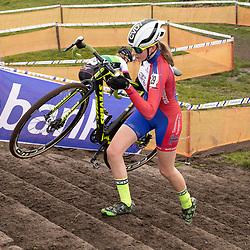 11-01-2020: Wielrennen: NK Veldrijden: Rucphen<br />Carmen van der Veen