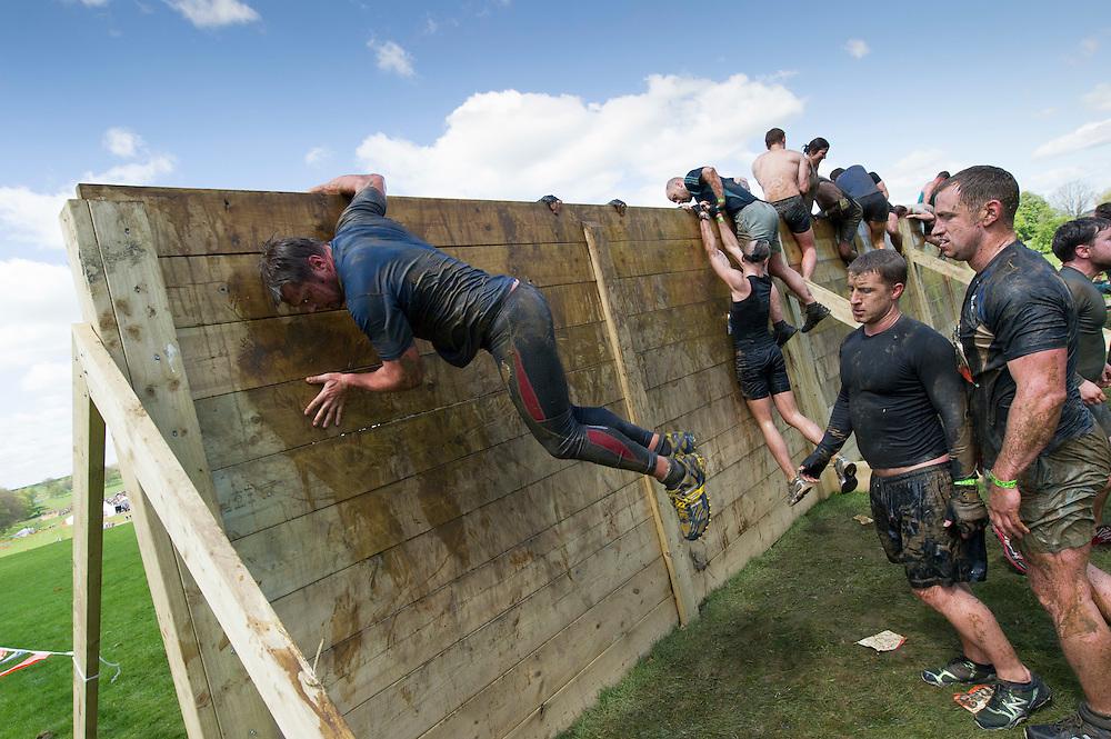 Tough Mudder - May 2012 - Northamptonshire - Berlin Wall Climb
