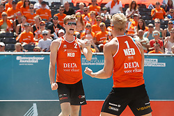 20180717 NED: CEV DELA Beach Volleyball European Championship day 3<br />