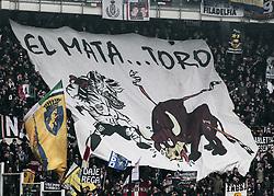 February 18, 2018 - Turin, Italy - The public during the Serie A match between Torino FC and Juventus at Stadio Olimpico di Torino on February 18, 2018 in Turin, Italy. (Credit Image: © Loris Roselli/NurPhoto via ZUMA Press)