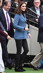 William, Kate and Harry attend a Coach Core graduation - 18 Oct 2017