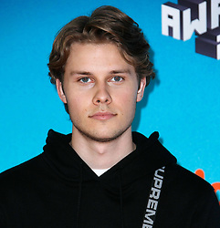 March 23, 2019 - Los Angeles, CA, USA - LOS ANGELES, CA - MARCH 23: Logan Shroyer attends Nickelodeon's 2019 Kids' Choice Awards at Galen Center on March 23, 2019 in Los Angeles, California. Photo: CraSH for imageSPACE (Credit Image: © Imagespace via ZUMA Wire)