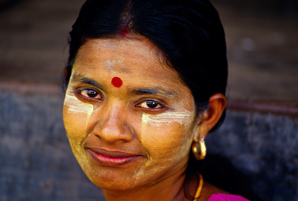 Indian (Hindu) woman, Syriam, Burma (Myanmar)
