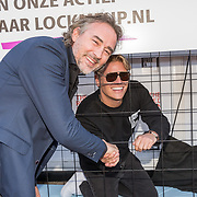 NLD/Blaricum/20190513 -  Lock Me Up - Free a Girl actie benefietfeest, Jeroen Nieuwenhuize en Thomas Berge