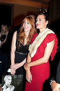 CHARLOTTE TILBURY; YASMINE LEBON, Harpers Bazaar Women of the Year Awards. North Audley St. London. 1 November 2010. -DO NOT ARCHIVE-© Copyright Photograph by Dafydd Jones. 248 Clapham Rd. London SW9 0PZ. Tel 0207 820 0771. www.dafjones.com.