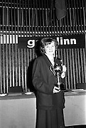 25/04/1964<br /> 04/25/1964<br /> 25 April 1964<br /> Gael Linn Secondary Schools Debating Competition final at the Shelbourne Hotel, Dublin. Winner of the Individual Speaker Section, Aine Nic Oda, Clochar na Trocaire, Carrick on Suir, Co. Tipperary.