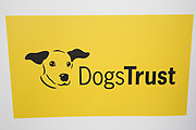 Logo for the carity Dogs Trust. The UK's largest dog welfare charity, outreach programs, education, information, dogs for rehoming, legislation and campaigning.