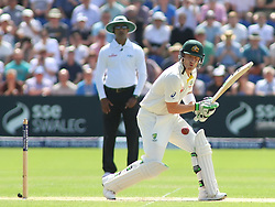 CARDIFF, WALES - JULY 10: Brad Haddin of Australia during day three of the 1st Investec Ashes Test match between England and Australia at SWALEC Stadium on July 10, 2015 in Cardiff, United Kingdom. (Photo by Mitchell Gunn/ESPA)(Credit Image: © ESPA Photo Agency/Cal Sport Media/ZUMAPRESS.com)