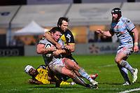 Henry CHAVANCY / Peter GRANT - 20.12.2014 - Racing Metro 92 / La Rochelle - 13eme journee de Top 14<br />Photo : Dave Winter / Icon Sport