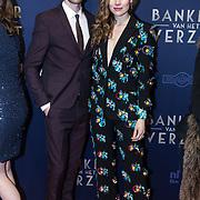 NLD/Amsterdam/20180305 - Première Bankier van het Verzet, Anna Drijver en partner Benja Bruijning