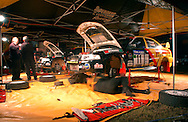 Pedders Team Service.2003 Falken Rally of Queensland.Imbul State Forest, QLD.13th-15th of June 2003 .(C) Joel Strickland Photographics