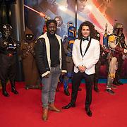 NLD/Amsterdam/20191218 - Premiere van Star Wars: The Rise of Skywalker, Andre Dongelmans en Alkan Coklu