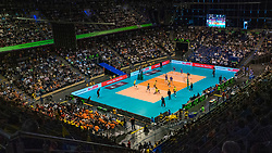 18-05-2019 GER: CEV CL Super Finals Igor Gorgonzola Novara - Imoco Volley Conegliano, Berlin<br /> Igor Gorgonzola Novara take women's title!Novara win 3-1 /  Max Schmeling Halle