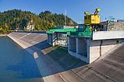 Elektrownia w Niedzicy nad Zalewem Czorsztyńskim