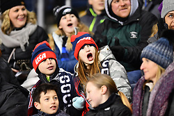 February 27, 2019 - Chester, PA, U.S. - CHESTER, PA - FEBRUARY 27: Fans cheer before the She Believes Cup game between Japan and the United States on February 27, 2019 at Talen Energy Stadium in Chester, PA. (Photo by Kyle Ross/Icon Sportswire) (Credit Image: © Kyle Ross/Icon SMI via ZUMA Press)