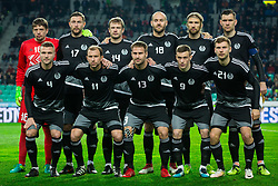 Belarus team during friendly football match between National teams of Slovenia and Belarus, on March 27, 2018 in SRC Stozice, Ljubljana, Slovenia. Photo by Vid Ponikvar / Sportida
