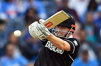 Cricket - 2019 ICC Cricket World Cup - 1st Semi-final - India vs New Zealand<br /> <br /> New Zealand's Henry Nicholls in action today during the ICC Cricket World Cup match between India and New Zealand at Old Trafford.<br /> <br /> COLORSPORT/ASHLEY WESTERN