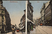 Zagreb : Ilica. <br /> <br /> Impresum[Zagreb] : S. M. Z., 1921.<br /> Materijalni opis1 razglednica : tisak ; 8,8 x 13,9 cm.<br /> Vrstavizualna građa • razglednice<br /> ZbirkaZbirka razglednica • Grafička zbirka NSK<br /> ProjektPozdrav iz Zagreba • Pozdrav iz Hrvatske<br /> Formatimage/jpeg<br /> PredmetZagreb –– Ilica<br /> Jezikhrvatski<br /> SignaturaRZG-ILIC-35<br /> Obuhvat(vremenski)20. stoljeće<br /> NapomenaPutovala je 1931. godine. • S. M. Z. vjerojatno S. Marković Zagreb.<br /> PravaJavno dobro<br /> Identifikatori000945983<br /> NBN.HRNBN: urn:nbn:hr:238:621429 <br /> <br /> Izvor: Digitalne zbirke Nacionalne i sveučilišne knjižnice u Zagrebu