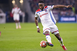 February 19, 2019 - Lyon, França - LYON, LY - 19.02.2019: LYON X BARCELONA - Moussa Dembele of Lyon during the match between Lyon and Barcelona held at Parc Olympique Lyonnais in Lyon. The match is valid for the octaves of the Champions League 2018/2019. (Credit Image: © Richard Callis/Fotoarena via ZUMA Press)