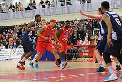 Greg Streete of Bristol Flyers - Mandatory byline: Dougie Allward/JMP - 12/03/2016 - FOOTBALL - SGS Wise Campus - Bristol, England - Bristol Flyers v Glassgow Rocks - British Basketball League