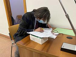 PM PUBBLICO MINISTERO ANDREA MAGGIONI<br /> UDIENZA PROCESSO WILLY BRANCHI FERRARA