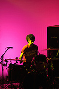 Photo of Fabrizio Moretti of the band The Strokes performing at the Pageant in St. Louis on April 8, 2006.
