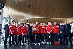 150127 Wales U16 visit the Senedd