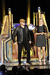 ANAHEIM, CA - MAY 25: Guardians of the Galaxy cast members Michael Rooker and Pom Klementieff attend Guardians for the Galaxy: Mission – BREAKOUT! Grand Opening Ceremony attraction on May 25, 2017 at the Disneyland Resort in Anaheim, California USA. Byline, credit, TV usage, web usage or link back must read SILVEXPHOTO.COM. Failure to byline correctly will incur double the agreed fee. Tel: +1 714 504 6870.