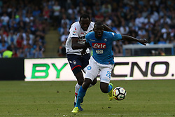 May 20, 2018 - Naples, Italy - Simy (FC Crotone) AND Kalidou Koulibaly (SSC Napoli).during the Italian Serie A football SSC Napoli v FC Crotone at S. Paolo Stadium in.Naples on May 20, 2018  (Credit Image: © Paolo Manzo/NurPhoto via ZUMA Press)
