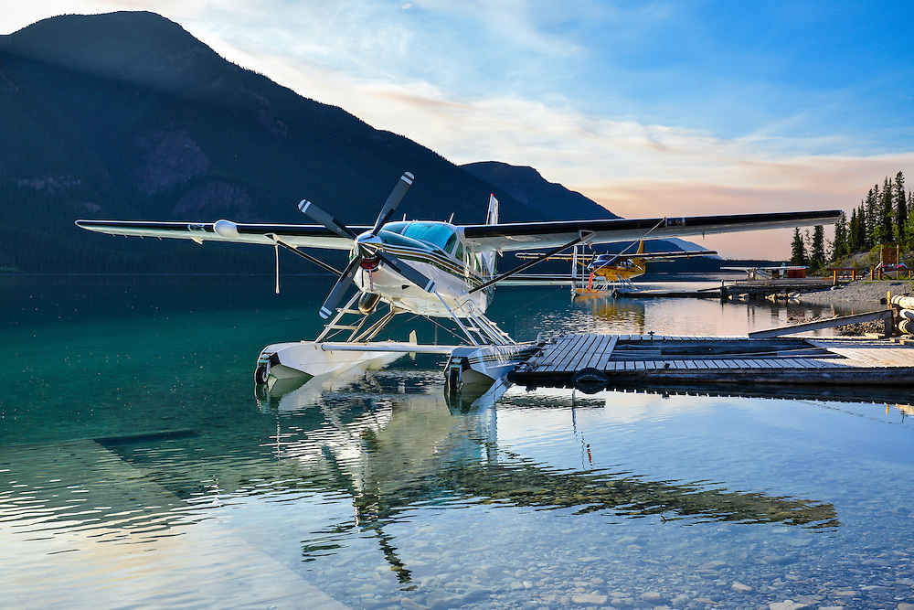 Cessna Grand Caravan N208LB at Northern Rockies Lodge on Muncho Lake BC