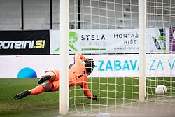 during football match between NK Maribor and Olimpija in 24nd round of Prva liga Telekom Slovenije 2020/21, on 27 February, 2021 in Ljudski Vrt stadium in Maribor, Slovenia. Photo by Blaž Weindorfer / Sportida