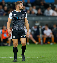 Joe Thomas of Ospreys<br /> <br /> Photographer Simon King/Replay Images<br /> <br /> Guinness PRO14 Round 2 - Ospreys v Cheetahs - Saturday 8th September 2018 - Liberty Stadium - Swansea<br /> <br /> World Copyright © Replay Images . All rights reserved. info@replayimages.co.uk - http://replayimages.co.uk