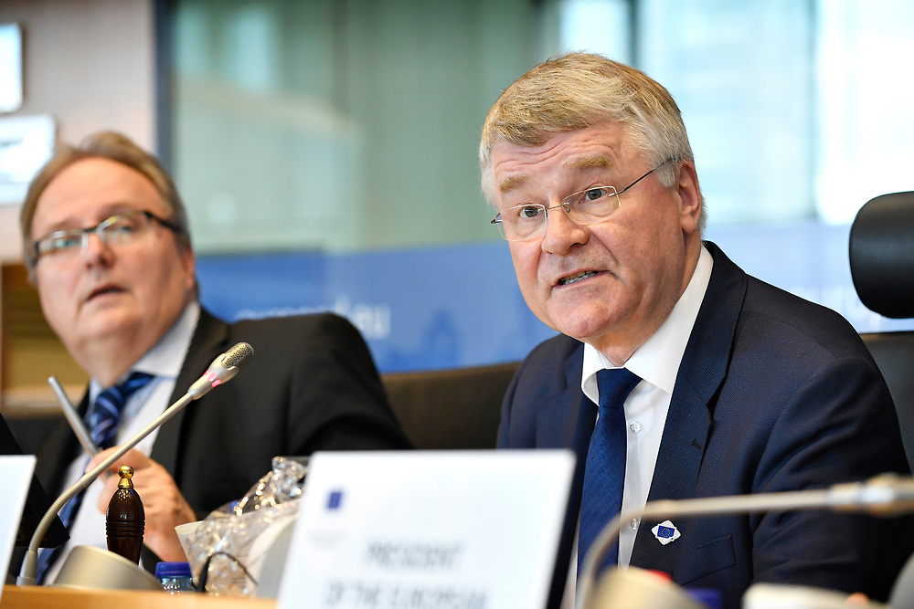 11 May 2017, 123rd Plenary Session of the European Committee of the Regions <br /> Belgium - Brussels - May 2017 <br />  CoR President Markkula <br /> © European Union / Fred Guerdin