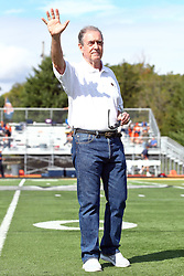 01 October 2016:  Denny Matthews during an NCAA division 3 football game between the Wheaton Thunder and the Illinois Wesleyan Titans in Tucci Stadium on Wilder Field, Bloomington IL (Photo by Alan Look)