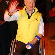 Huizer Sportgala 2005, uitreiking sportprijzen, sportvrouw Djoke van Marum